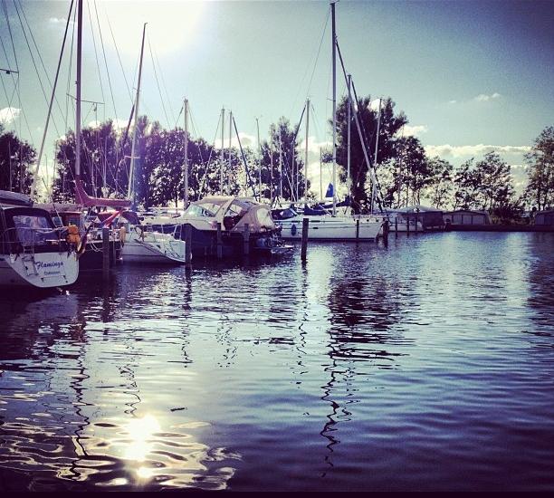 Jachthaven de Koggeplaet aan de Fluessen